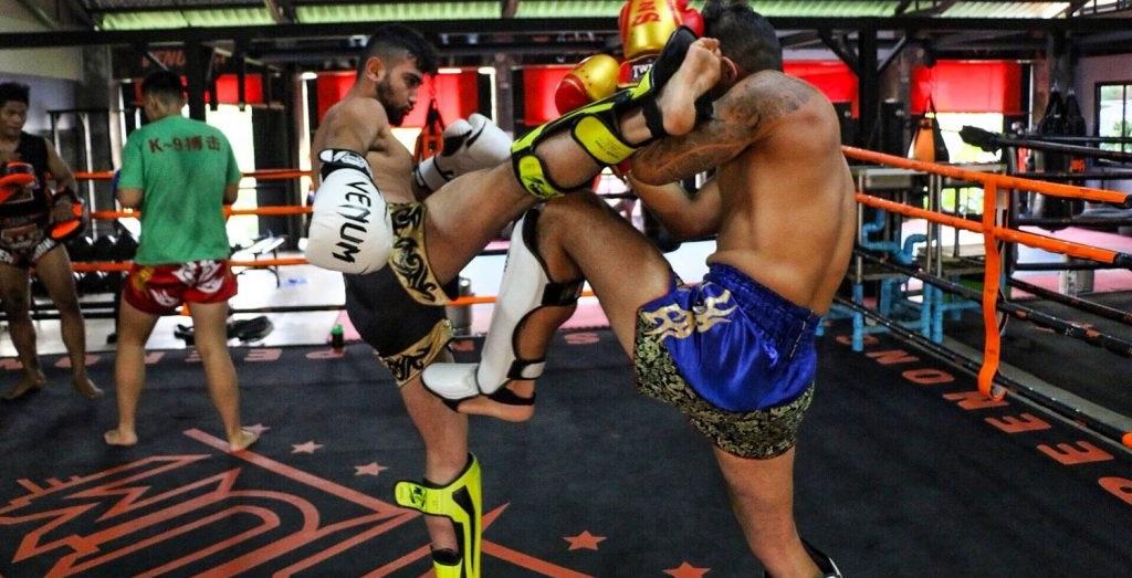 Allenamenti Muay Thai