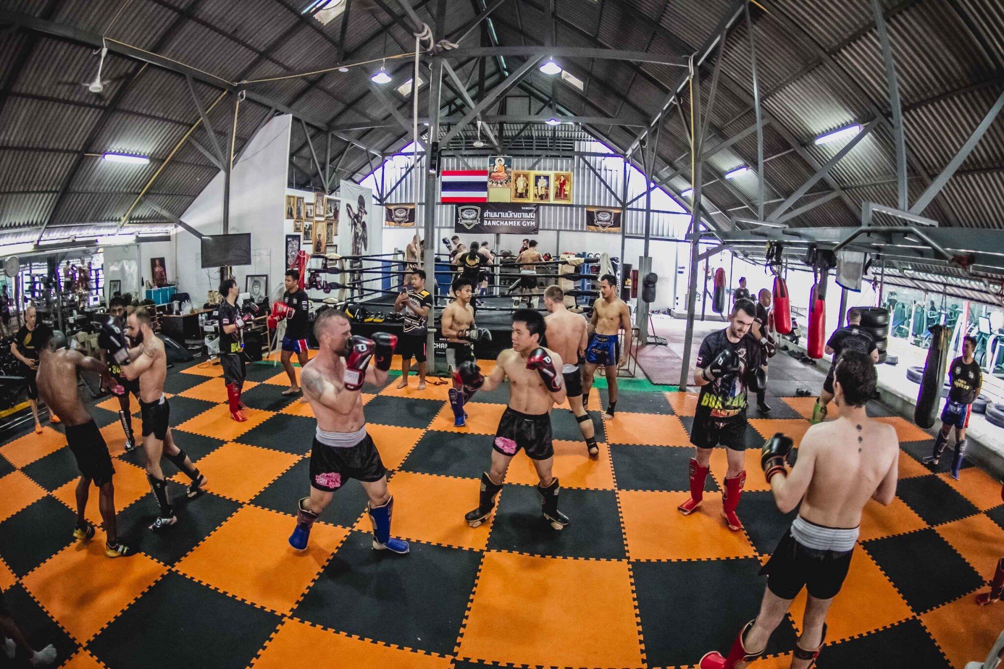 Banchamek Gym lezioni di Muay Thai