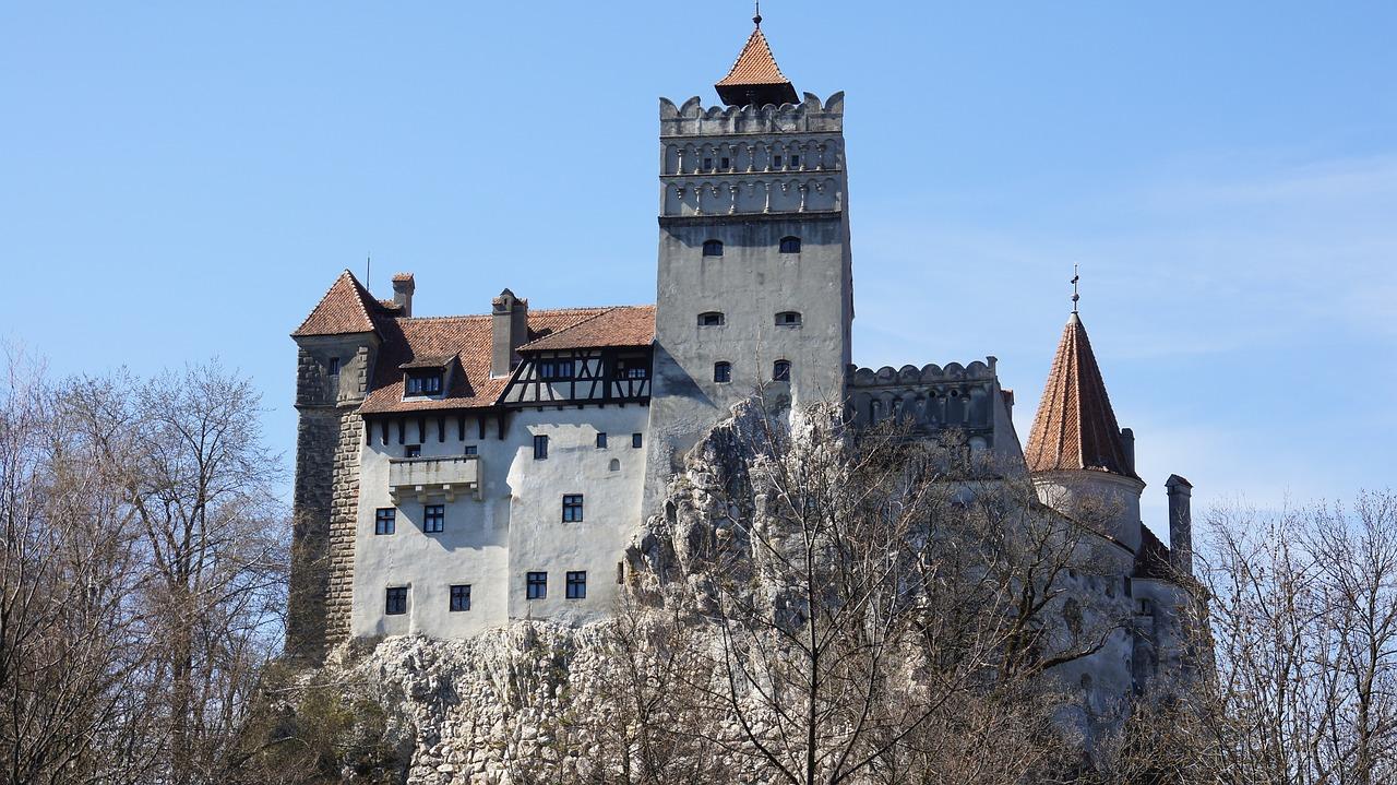 Il Castello di Dracula a Bran, in  Transilvania (Romania)