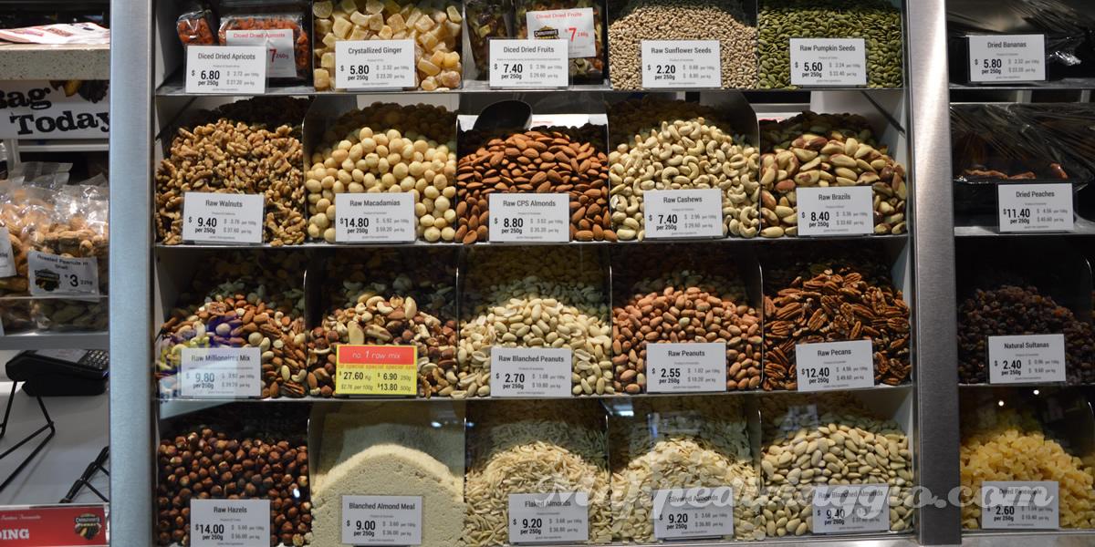 central-market-adelaide-prezzi-frutta-secca