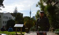 Auckland: su e giù per la città