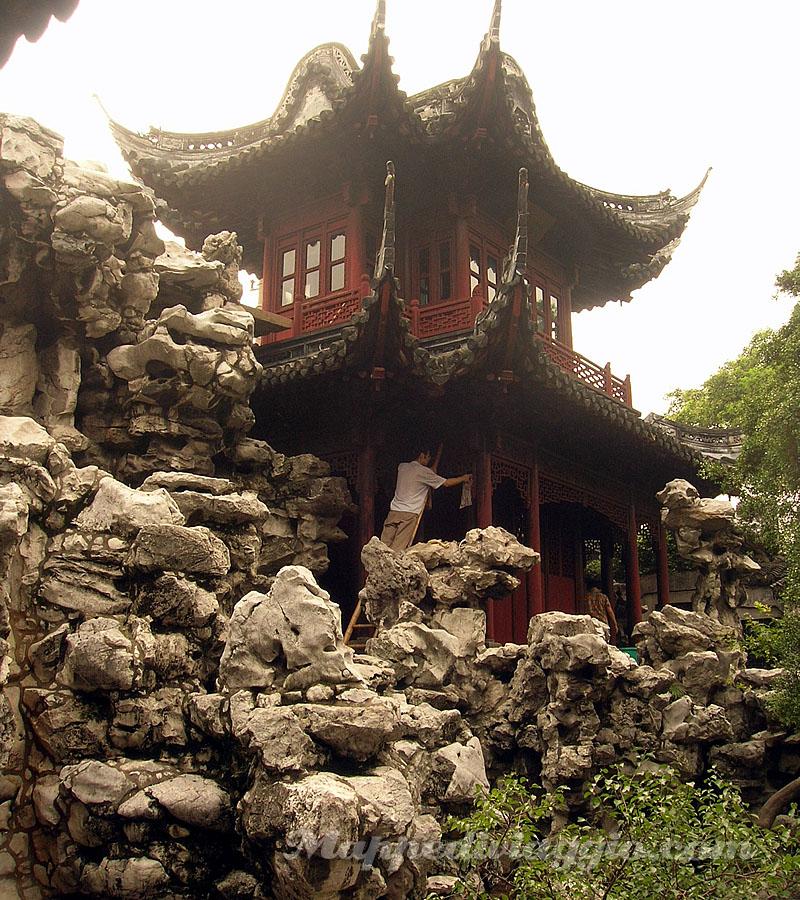 Viaggio in cina parte 8x9 visita a shanghai mappe di viaggio - Giardino del mandarino yu ...