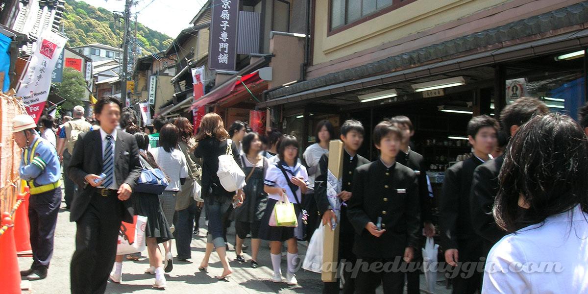 studenti-kiyomizu-dera