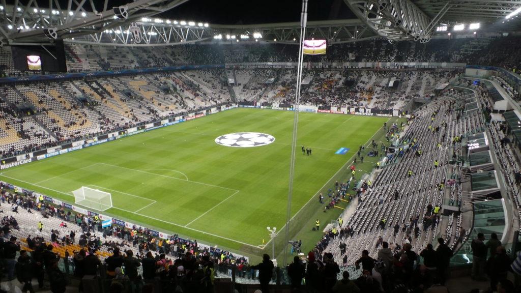 Tour stadio Juventus, Torino