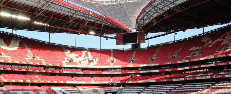 Tour dell'Estádio da Luz di Lisbona, lo stadio del Benfica