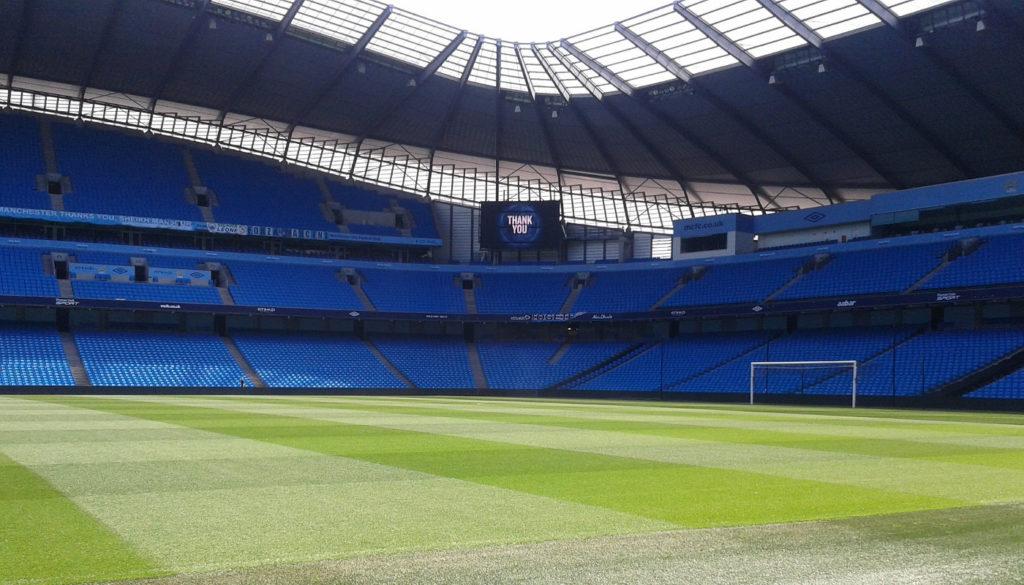 Tour dello stadio del Manchester City